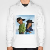 tupac Hoodies featuring Poetic Justice by Kimbo Henry