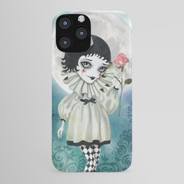 Pierrette Under the Icy Moon iPhone Case