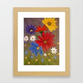 Wildflower-2 Framed Art Print