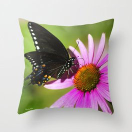 Butterfly V Throw Pillow