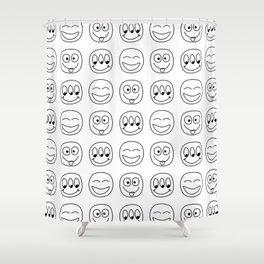 Emoji Shower Curtain