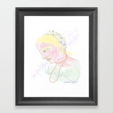 Titina Framed Art Print