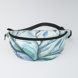 Tree of Life (blues) Fanny Pack