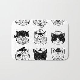 Ocean Cats Bath Mat