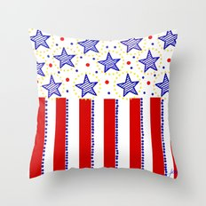 firecracker! Throw Pillow