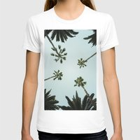 palm trees T-shirts featuring Palm trees by chitoteno
