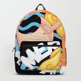 Mermaid Academy Cute Blond Mermaid Perfect Gift for Mermaid and Siren Lovers Backpack