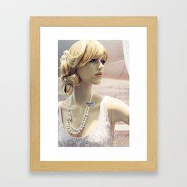 Priscilla Pearl Framed Art Print