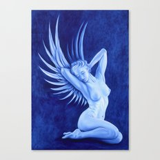 Blue Angel Canvas Print