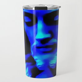 Blue Jesus Travel Mug