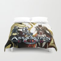 assassins creed Duvet Covers featuring Assassins Creed   by store2u