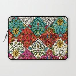 aziza patchwork Laptop Sleeve