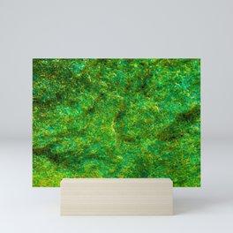 Neon Green Rock Mini Art Print