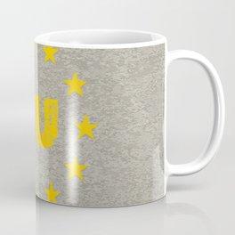Concrete EU Flag Coffee Mug