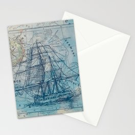 Clipper Ship Stationery Cards