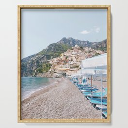 Amalfi Coast Beach Serving Tray