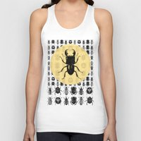 bugs Tank Tops featuring Bugs Pattern by DIVIDUS