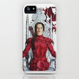 "Katniss Everdeen Mockingjay Part 2 ""I Kill Snow"" | Drawing iPhone Case"