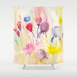 Wildblumen / Wild flowers Shower Curtain