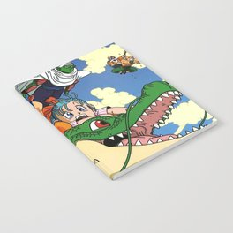 Kids and the Dragon Notebook