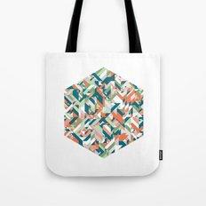 Summer Geometric Tote Bag