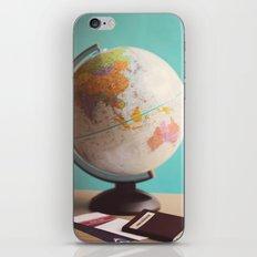 Travel planning iPhone & iPod Skin
