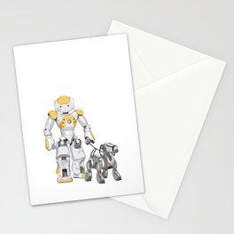 The Dog Walker. (Orange) Stationery Cards