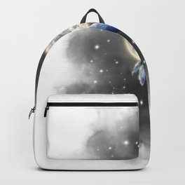 whale and moon Backpack
