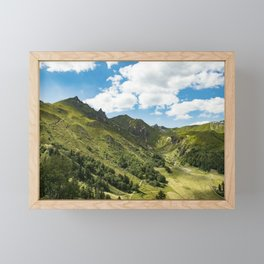 Breathing Framed Mini Art Print