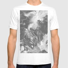 U R A FEVER Mens Fitted Tee X-LARGE White