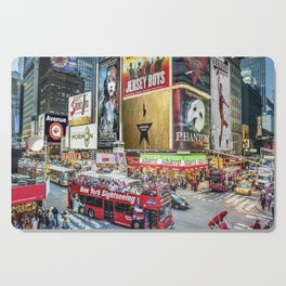 Times Square II Cutting Board