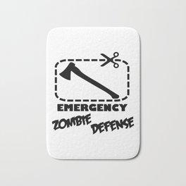 Zombie  - Emergency Defense Axe Bath Mat