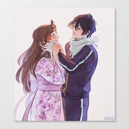 Yato and Hiyori Canvas Print