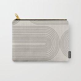 Minimalist, Line Art Modern Carry-All Pouch
