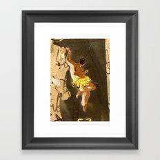Barcelona Street Art - wall 009 Framed Art Print