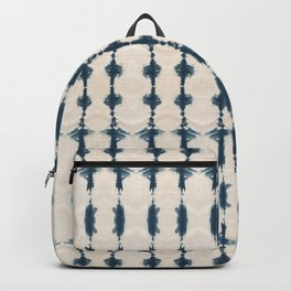 Shibori Movement in Indigo Backpack