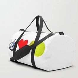 I love pickleball (wide) Duffle Bag