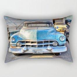1951 Blue Cadillac Rectangular Pillow