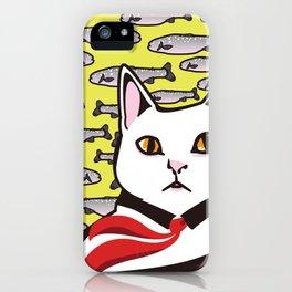 cat&fish iPhone Case