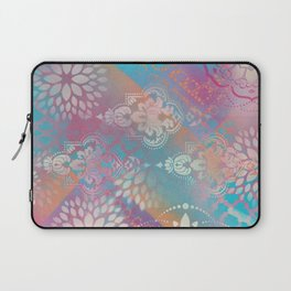 Colorful Spray Painted Patterns Laptop Sleeve