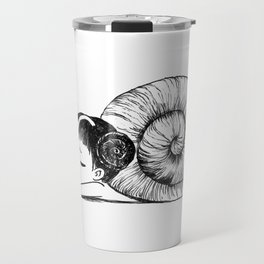 Snail girl Travel Mug