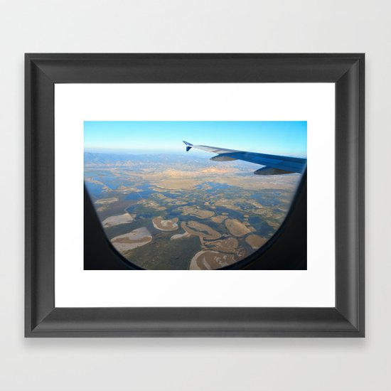 Great Salt Lake Framed Art Print