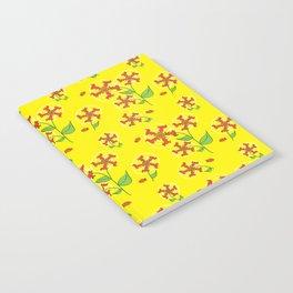 Doxie Flower - Dachshund Dog - Weiner Dog - Weenie Dog Notebook