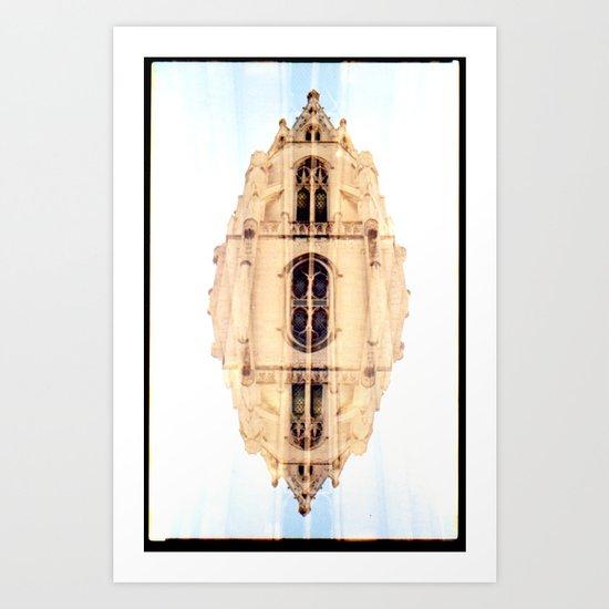 Th (35mm multi exposure) Art Print