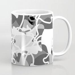 Geometric pattern (B&W) Coffee Mug