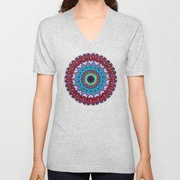 New Dawn Mandala Art - Sharon Cummings Unisex V-Neck