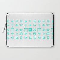 starwars Laptop Sleeves featuring StarWars icon by SUSANNA CONTOLI