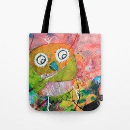 Mr. Grumpy Pants - Quirky Bird Series Tote Bag
