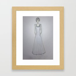 ghost noveau Framed Art Print