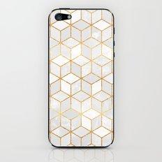 White Cubes iPhone & iPod Skin